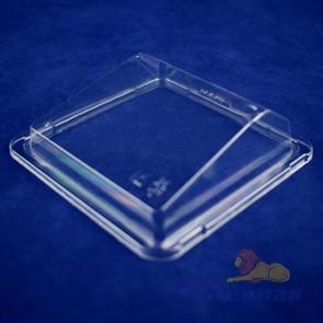 Контейнер КД-303К (внеш.116*114*45мм, внутр.94*92*41мм) КРЫШКА прозрачная (1500шт)  д/суши