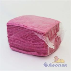 Салфетка цветная АССОРТИ (100шт/60уп) (в мешке 3 цвета) /Форест-Пак