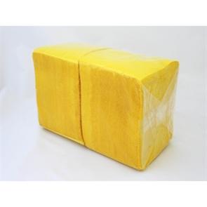 Салфетка желтая ЭКО (400шт/12уп) 24х24см арт.А3151602