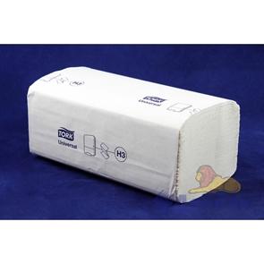 Полотенца бумажные листовые TORK Singlefold 1-слойные (20уп=250лист) ZZ сложения