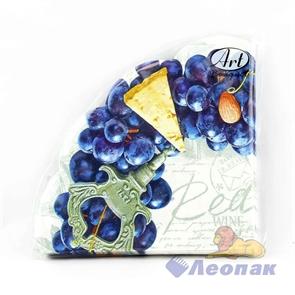 Салфетка Art Bouguet Rondo  Виноградный венок   (12шт/15уп) 32х32 3х-слойная