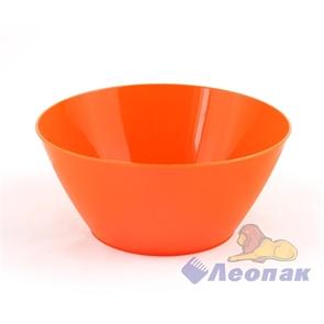 Салатник 0,6л оранжевый (60шт)