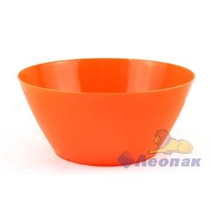 Салатник 2,5л оранжевый (30шт)