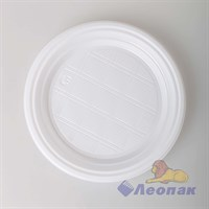 Набор  Тарелка белая d=170мм  (12шт/75уп) Леопак