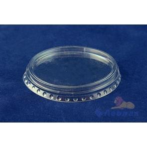 Крышка плоская  д/стакана 200-500мл PET-шейкер D=95мм (50шт/20уп) /ПолиЭр