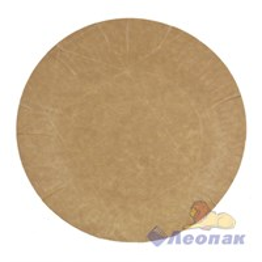 Тарелка картонная ламинированная d=170мм (100/1400) МОЛОКО /Авенир