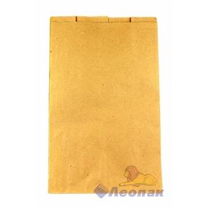 Пакет бумажный 400х250х120мм (100шт/уп) КРАФТ Б/П