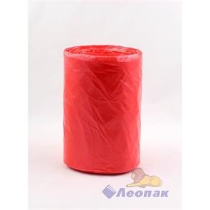 Мешок мусорный 120л (50шт/10рул) ПНД красный Уфа
