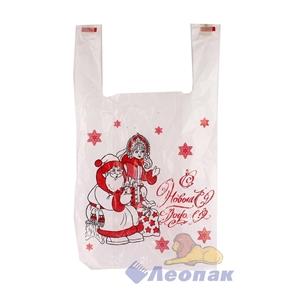 П-майка 28х50-12мкм  Дед Мороз и Снегурочка   (100/3000) Ижевск