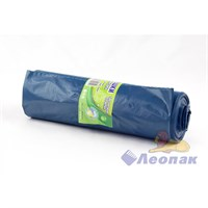 Мешок мусорный 180л синий (10шт/20рул)  Чистая Планета