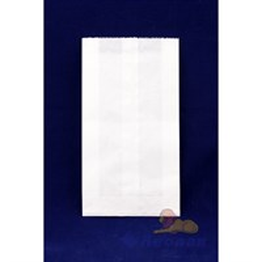 Пакет бумажный VB 300*140*60  (100/1400шт) Б/П Белый