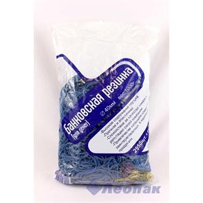 Резинка банковская 40мм 1 кг (1/20уп/1кор) синяя