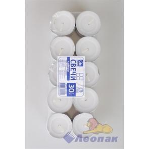 Свечи чайные (30шт/1уп/20уп) арт.800-002