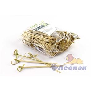 Пика  Узелок  бамбук (100шт/30уп) 10см OPTILINE /10-1121