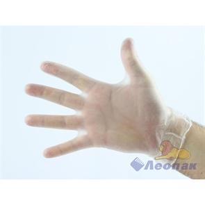 Перчатки виниловые  М  (100шт/10уп) Академия