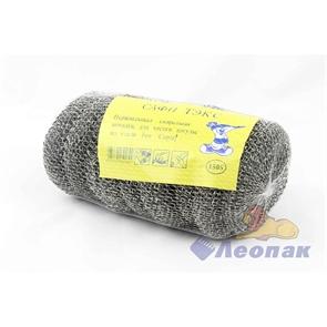 Губка круглая металлическая для посуды  (10шт/120уп)  АКВА МАГ   СП-008/6