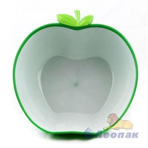 Салатник  Яблочный рай  2.0л зеленый (20шт)