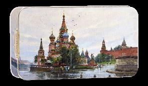 Набор конфет  Городничев  110 гр.  Собор Василия Блаженного г.Москва