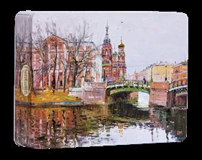 Набор конфет  Городничев  220 гр.  Петра творенье г.Санкт-Петербург