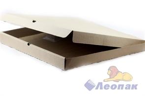 Коробка под пиццу 450*450*40мм Т11 микрогофра, серая (50шт/1уп) МК