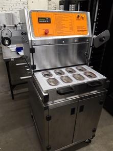 Запайщик п/автоматический контейнеров НР-2.01(выталкиватели, фотодатчик, матрица для лотка спк-1409)