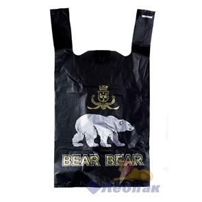 П-майка 28х53-15мкм черный  Медведь   (100/1000) /СОЮЗ