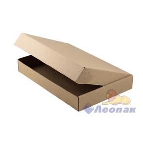 Коробка под пирог 326*229*48мм Т11 микрогофра, серая (50шт/1уп) МК
