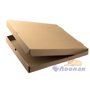 Коробка под пиццу 420х420х40 (50шт/1уп) серая /Ц