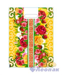 П-выр.ручка 30х40-60мкм  Летние цветы мини   (50/1000) Нео-Пак