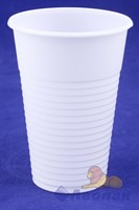 Стакан 200мл белый (100/4200) /УФА