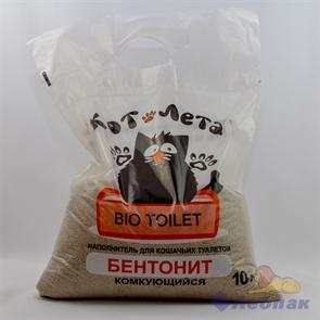 Наполнитель Комкующийся Бентонит  КотЛета  10л