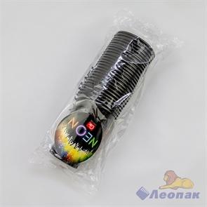 Стаканы GRIFON BLACK, 200 мл, 26 шт. в п/п упаковке (18) 105-232