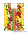 П-выр.ручка 30х40-60мкм  Летние цветы мини   (50/1000) Нео-Пак - фото 8680