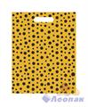 П-выр.ручка 30х40-60мкм  Горошек желтый   (25/1000) Нео-Пак - фото 8683