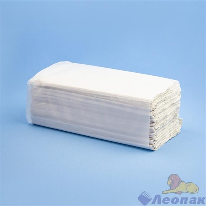 Полотенца бумажные листовые белые 1-сл. (24уп=200лист) V-сл МК  РТ - фото 14799