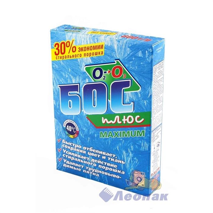 Отбеливатель Бос плюс 600г/30шт - фото 4512
