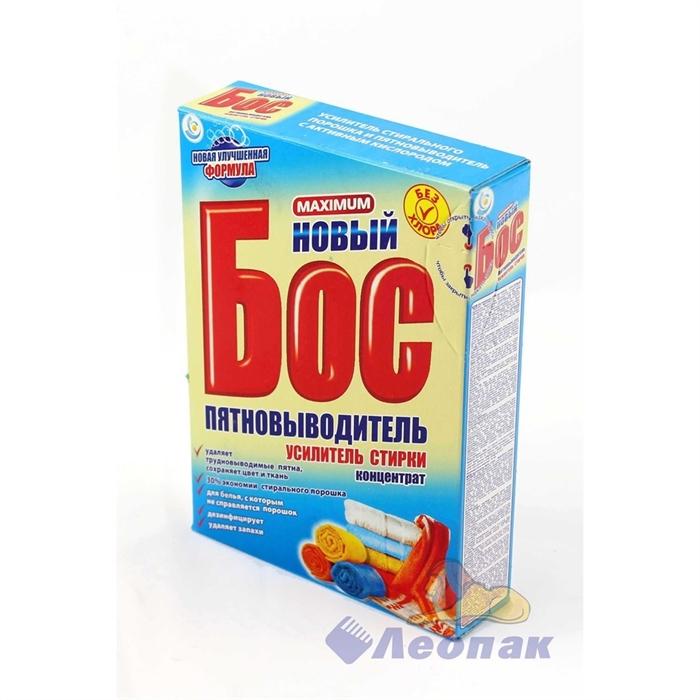 Пятновыводитель  БОС Максимум  300г (32шт) (карт/п) /НЗБХ  38:288 - фото 4533