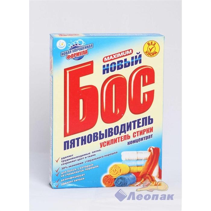 Пятновыводитель  БОС Максимум  600г (30шт) (карт/п) /НЗБХ  292 - фото 4534