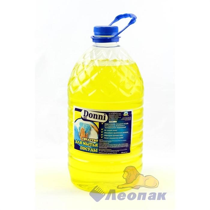 Средство для мытья посуды  DONNI Gel   5000 мл - фото 4554