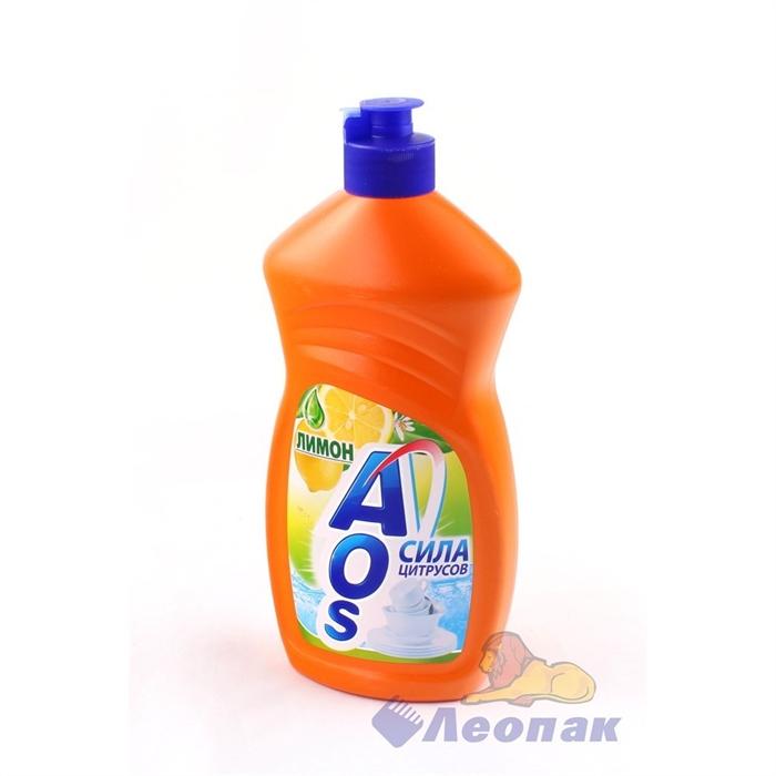 ЖМС  AOS  500г Лимон/20шт - фото 4579