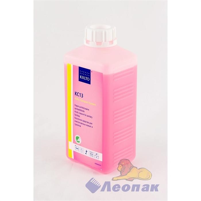 Средство для очистки ванных комнат и туалетов  КС13  1л (кислотное) - фото 4655