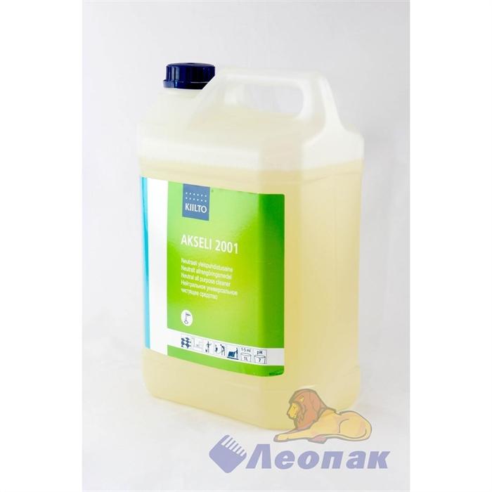 Моющее средство для полов и зеркальных поверхностей  Киилто Аксели 2001  5л (нейтральное) Т7087.005 - фото 4661