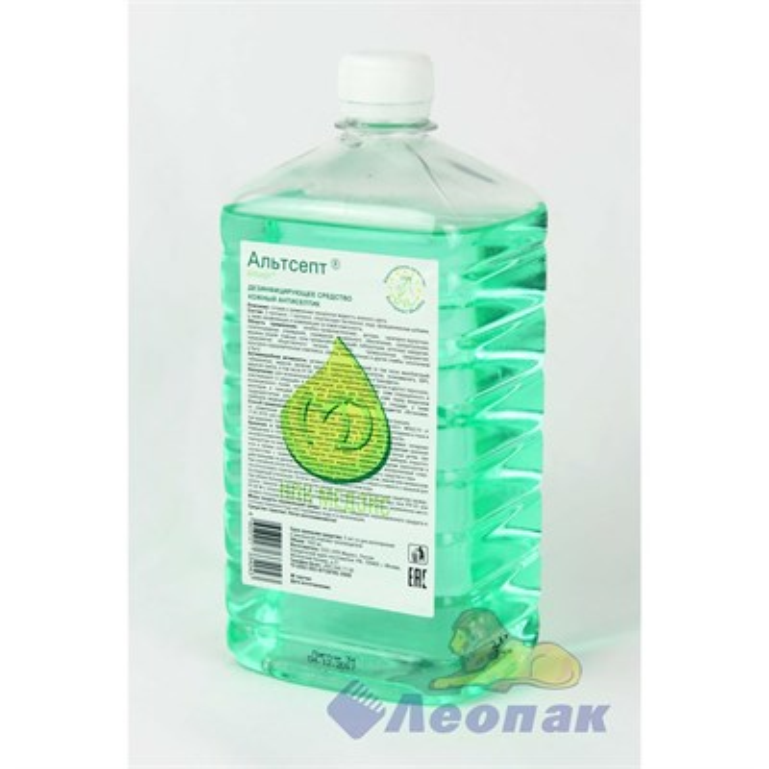 Кожный антисептик  Альтсепт  1л - фото 4665