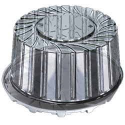 Емкость УК-235НА-01  белая (120шт/кор) аналог Т-265Д - фото 4884