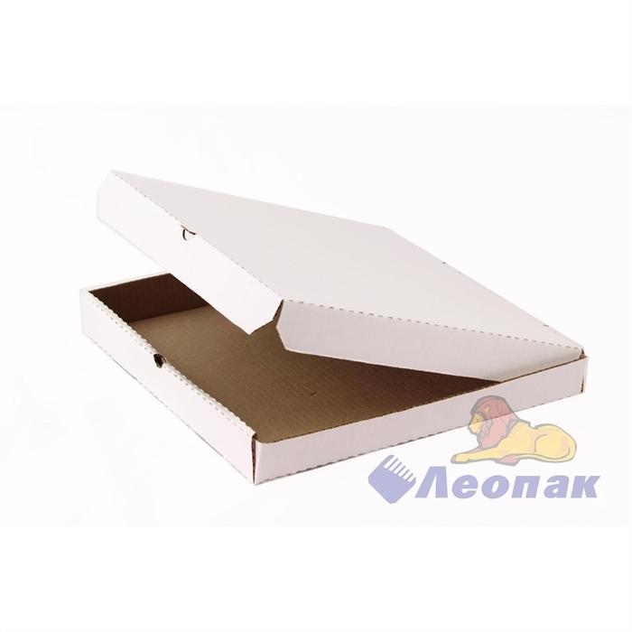 Коробка под пиццу 310х310х40 (100шт/1уп) белая - фото 4902