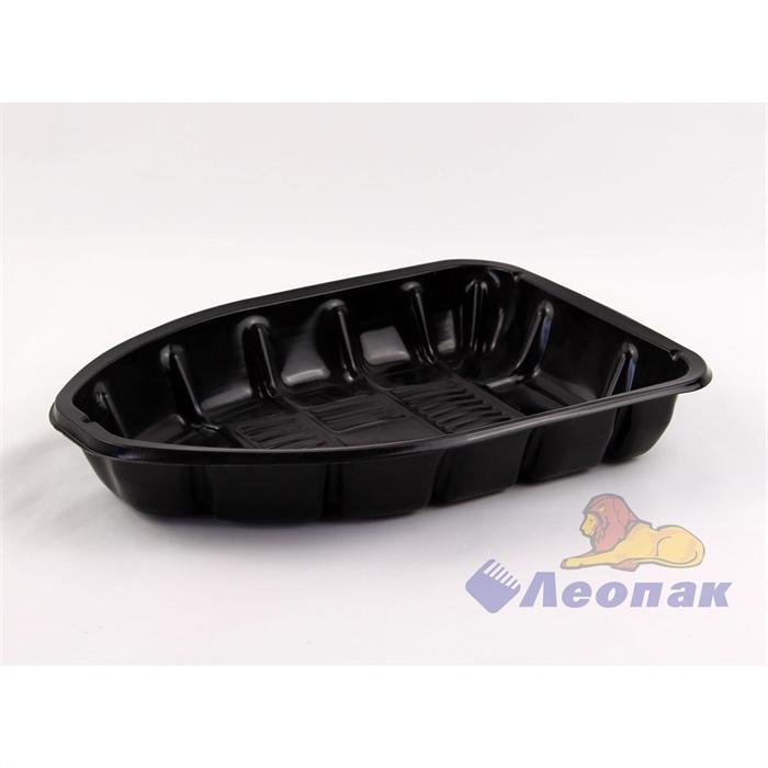 Лоток д/куры пластиковый черный  (25/1000) Новосибирск - фото 4926