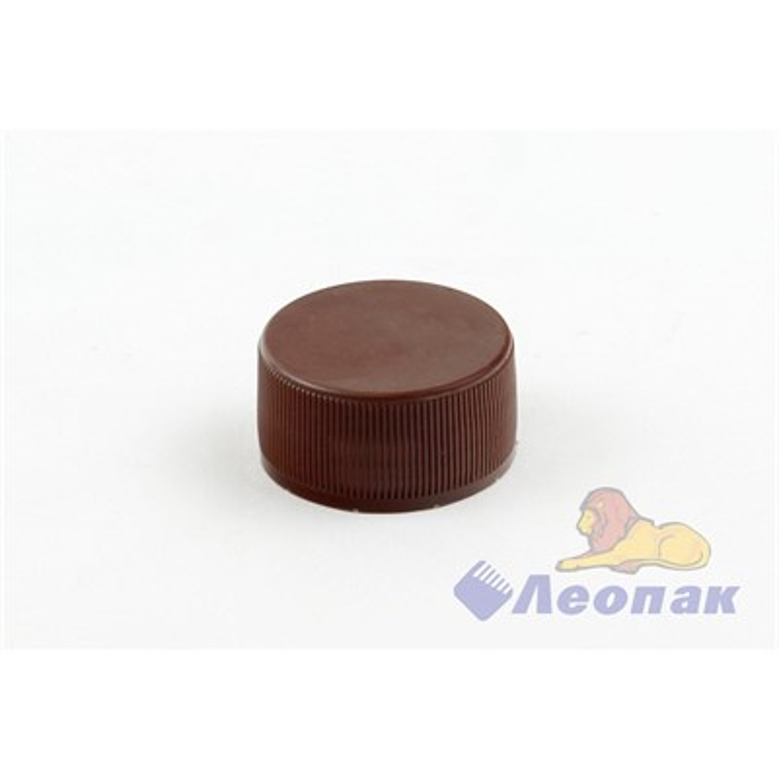 Пробка к бутылке ПЭТ  1-КОМПАНЕНТНАЯ 0,5-3,0л КВП1-28(1/100шт.) коричневая - фото 4934