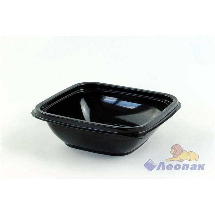 Емкость-контейнер1212 - 250мл ЧЕРНАЯ126*126*38мм (500/50) / ПолиЭр - фото 4935