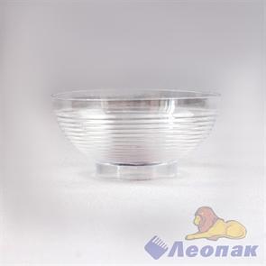 Форма д/фуршетов 60мл, d=67мм, Mini Bowl, прозрачная (10шт/40уп) 5033