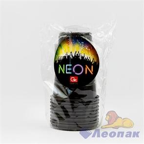 Стаканы GRIFON BLACK, 200 мл, 10 шт. в п/п упаковке (36) 105-231